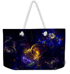 Glorious Univers Weekender Tote Bag by Klara Acel