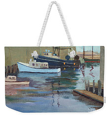 Gloucester Harbor Weekender Tote Bag