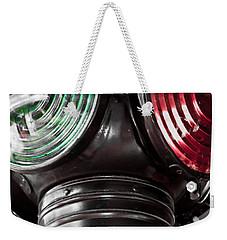Go No Go Weekender Tote Bag
