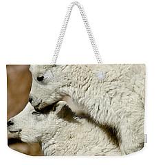 Goat Babies Weekender Tote Bag