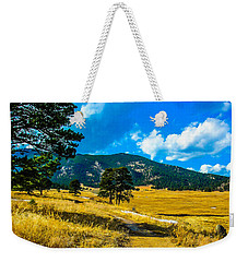 Weekender Tote Bag featuring the photograph God's Country by Shannon Harrington