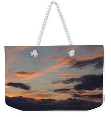 Weekender Tote Bag featuring the photograph God's Evening Painting by Bonfire Photography