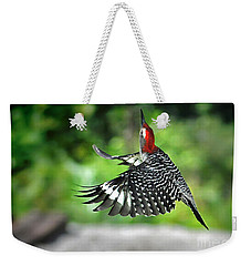 Weekender Tote Bag featuring the photograph Going Home by Nava Thompson