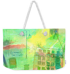 Going Places Weekender Tote Bag by Susan Stone