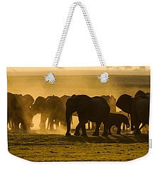 Gold Dust Gathering Weekender Tote Bag