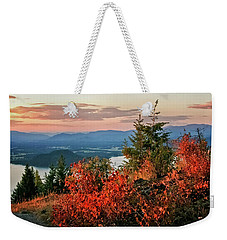 Gold Hill Sunset Weekender Tote Bag by Albert Seger
