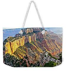Gold Rim Weekender Tote Bag