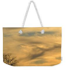 Golden Hue Weekender Tote Bag by Bonnie Myszka