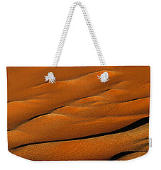 Golden Sand Weekender Tote Bag
