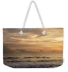 Golden Sea Weekender Tote Bag by Ivy Ho