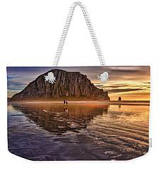Golden Sunset Weekender Tote Bag