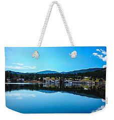 Weekender Tote Bag featuring the photograph Golf Course by Shannon Harrington