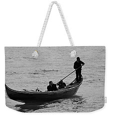 Weekender Tote Bag featuring the photograph Gondola  by Eric Tressler