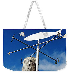 Weekender Tote Bag featuring the photograph Gone Fishing by Charlie and Norma Brock