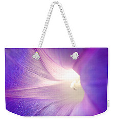 Good Morning Glory Weekender Tote Bag