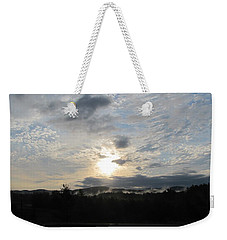 Weekender Tote Bag featuring the photograph Good Morning New York State by Maciek Froncisz