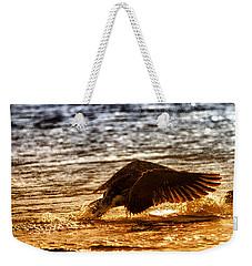 Goose Attack Weekender Tote Bag