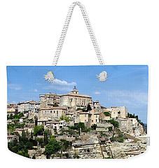 Gordes In Provence Weekender Tote Bag by Carla Parris