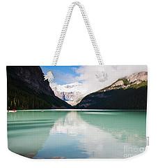 Gorgeous Lake Louise Weekender Tote Bag by Cheryl Baxter