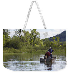 Weekender Tote Bag featuring the photograph Gotcha by Nina Prommer