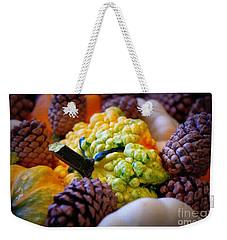 Weekender Tote Bag featuring the photograph Gourds 2 by Deniece Platt