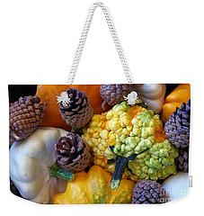 Weekender Tote Bag featuring the photograph Gourds 5 by Deniece Platt