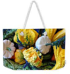 Weekender Tote Bag featuring the photograph Gourds 8 by Deniece Platt