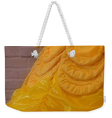 Gown Of A Princess Weekender Tote Bag by Bonnie Myszka