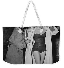 Grace Kelly  Weekender Tote Bag by Photo Researchers