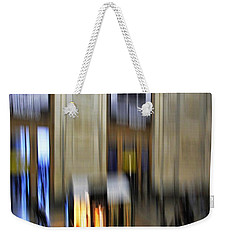 Weekender Tote Bag featuring the photograph Grand Central Station Italian Style by Andy Prendy