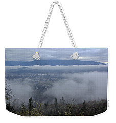 Weekender Tote Bag featuring the photograph Grants Pass Weather by Mick Anderson