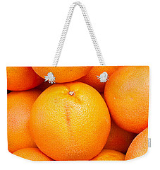 Grapefruit Weekender Tote Bag by Tom Gowanlock