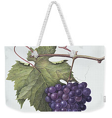 Grapes  Weekender Tote Bag by Margaret Ann Eden