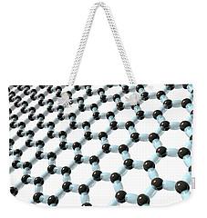 Weekender Tote Bag featuring the digital art Graphene 8 by Russell Kightley