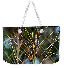Grass Weekender Tote Bag by Jocelyn Kahawai