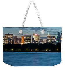 Great Pond Skyline Weekender Tote Bag