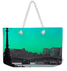 Green Day In London Weekender Tote Bag by Jasna Buncic