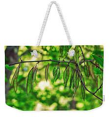 Green Redbud Seed Pods Weekender Tote Bag