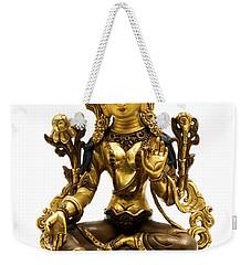 Green Tara Weekender Tote Bag