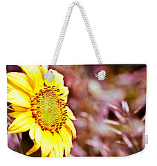 Greeting The Sun. Weekender Tote Bag by Cheryl Baxter