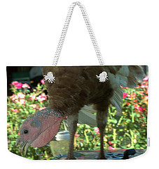 Grill Turkey Anyone Redneck Style Weekender Tote Bag
