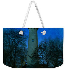 Grosse Point Lighthouse Before Dawn Weekender Tote Bag