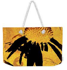 Grunge  Daisy Art Weekender Tote Bag
