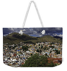 Weekender Tote Bag featuring the photograph Guanajuato Vista No. 1 by Lynn Palmer