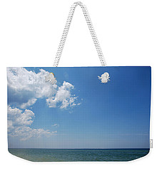Gulf Sky Weekender Tote Bag by Kay Lovingood