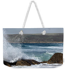 Gull On The Sand Weekender Tote Bag by Linsey Williams
