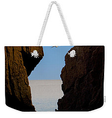 Weekender Tote Bag featuring the photograph Gulls Of Acadia by Brent L Ander
