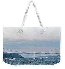 Gwb Sunset Weekender Tote Bag