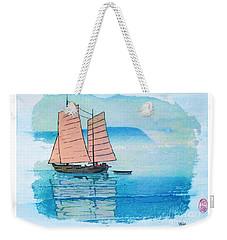 Haiphong Harbor Weekender Tote Bag by Roberto Prusso