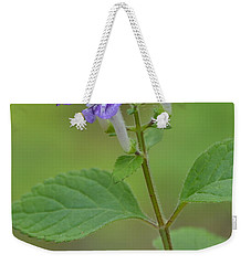 Weekender Tote Bag featuring the photograph Hairy Skullcap by JD Grimes